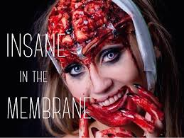 Insane Halloween Makeup by Insane In The Membrane Exposed Brain Sfx Makeup Tutorial Youtube