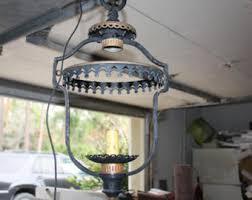 Gothic Chandelier Wrought Iron Vintage Gothic Light Etsy