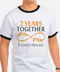 2 year wedding anniversary 2nd anniversary 2nd anniversary t shirts cafepress