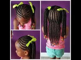 hairstyles plaited children braids hairstyles for black kids youtube