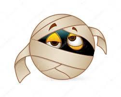 halloween mummy smiley u2014 stock vector baavli 61224101