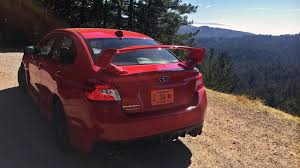 sti subaru red subaru wrx sti 2016 review by car magazine