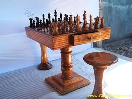 chess table and chairs set game tables chess room ornament pub style table and chairs