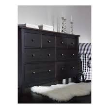 Ikea Bedroom Dresser Hemnes Chest Of 8 Drawers Black Brown 160x96 Cm Ikea