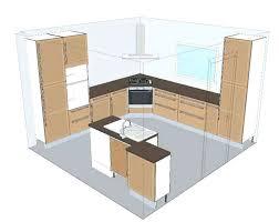 plan ilot central cuisine hotte de cuisine pour ilot central plan cuisine ilot cheap cuisine