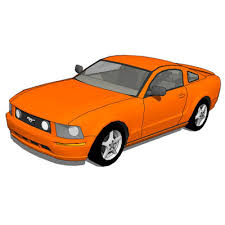 mustang gt model ford mustang gt 2006 3d model formfonts 3d models textures
