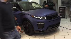 land rover matte range rover evoque matte youtube
