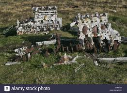 remains of engines from a heinkel he 111 german bomber on fair