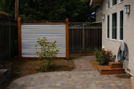 photobucket best metal panel fence designs ideas about metal