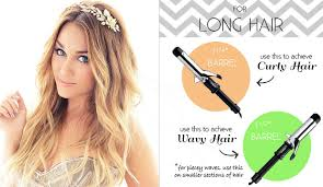 best tool for curling mid length hfine hair the right curling iron for your hair length
