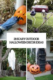 how to decorate outside for halloween halloween porch ideas 1