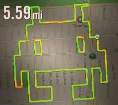 Running Map Route by Nike Running App Used For Phallic Art Purposes U0027draw Running U0027 Is