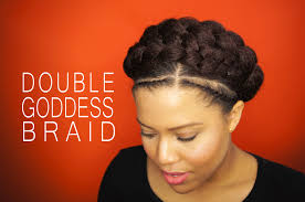 Curly Hair Braid Extensions by How To Goddes Braid With Extensions On Natural Hair Samantha