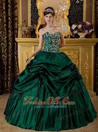 green quinceanera dresses green quinceanera dress sweetheart taffeta embroidery gown