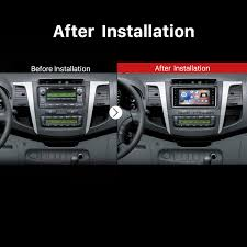 how to upgrade a 2005 2011 toyota vitz echo aftermarket car radio