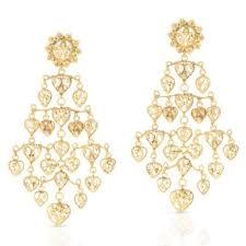 Chandelier Earrings India 45 Ideas Of Gold Chandelier Earrings