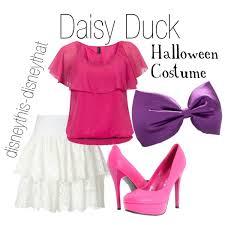 Duck Halloween Costume Daisy Duck Halloween Costume Polyvore