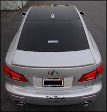 lexus isf san diego lexus isf sedan matte carbon fiber roof vinyl car wrap u2014 wannabe