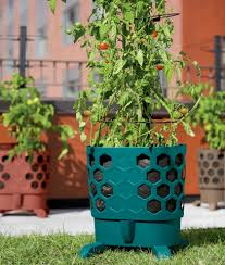 self watering gardener u0027s revolution self watering tomato planter with support