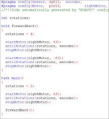 vex robotics led lights basic programming alex s web page