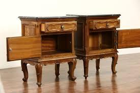 Antique Bedroom Furniture With Marble Top Sold Italian 1930 U0027s Bedroom Set Queen Size Bed Marble Top