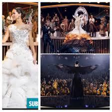 catching fire katniss mocking jay wedding dress beautiful want