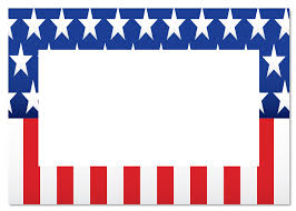 Americain Flag American Flag Clipart Border Pencil And In Color American Flag