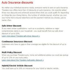 travelers car insurance images Travelers auto insurance review pros and cons
