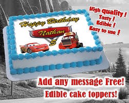 where to print edible images cars themed edible cake toppers edible print sugar sheet