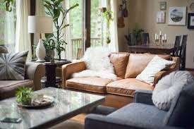 Living Room Inspiration Tan Leather Sofa - Leather chair living room