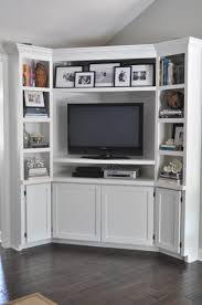 Built In Wall Units For Living Rooms by Corner Built Ins Bungalow Blue Interiors Home Corner Built
