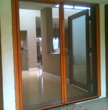 patio doors with dog door built in sliding screen for french doors saudireiki