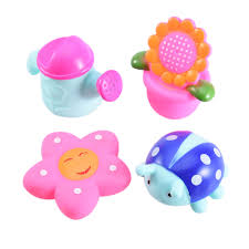 compare prices on bath water spray online shopping buy low price 4pc lot cute cartoon spray water toy set children s bathing supplies baby bath toys water