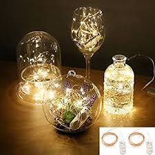amazon com accmor led starry string lights firefly waterproof