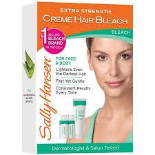 best otc hair bleach sally hansen extra strength creme hair bleach for face body kit