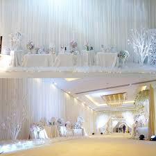 wedding backdrop background aliexpress buy 2017 white wedding backdrop background for