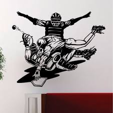 compare prices on baseball wall murals online shopping buy low baseball players slide safe decal wall vinyl art sticker sports decor murals muursticker wall poster living
