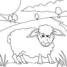 kids drawing shaun sheep coloring color luna