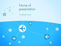airline powerpoint templates airlines theme powerpoint template