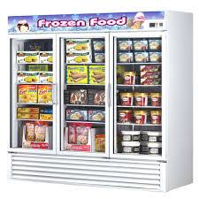 glass door chest freezer nsf freezers