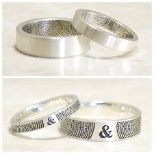 st louis wedding bands brent jess custom handmade fingerprint wedding rings