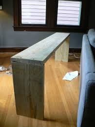 counter height table behind couch u003d so smart home pinterest