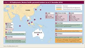 Asia Pacific Map by Asia Pacific Regional Security Assessment 2015 Iiss