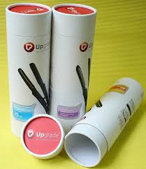 white cylinder cardboard tube containers glossy lamination