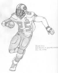 paul u0027s gallery football drawings reggie bush vs giants pencils 1024