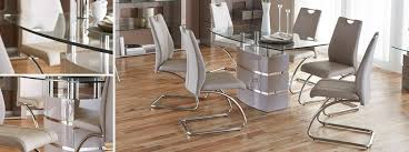 Dining Table And 4 Chairs Piatto Fixed Dining Table And 4 Chairs Dfs Ireland
