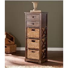 Rattan Baskets by Storage Shelf With Rattan Baskets Kallax Shelving Unit With