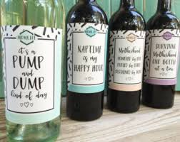 new mom wine labels etsy