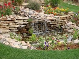 Waterfall For Backyard by Backyard Waterfall Ideas