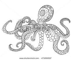 royalty free zentangle stylized octopus whale and u2026 261220199